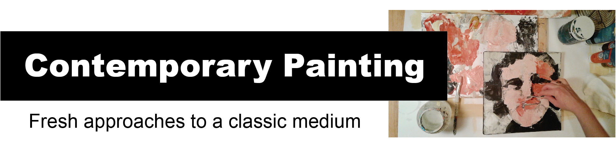 Painting banner