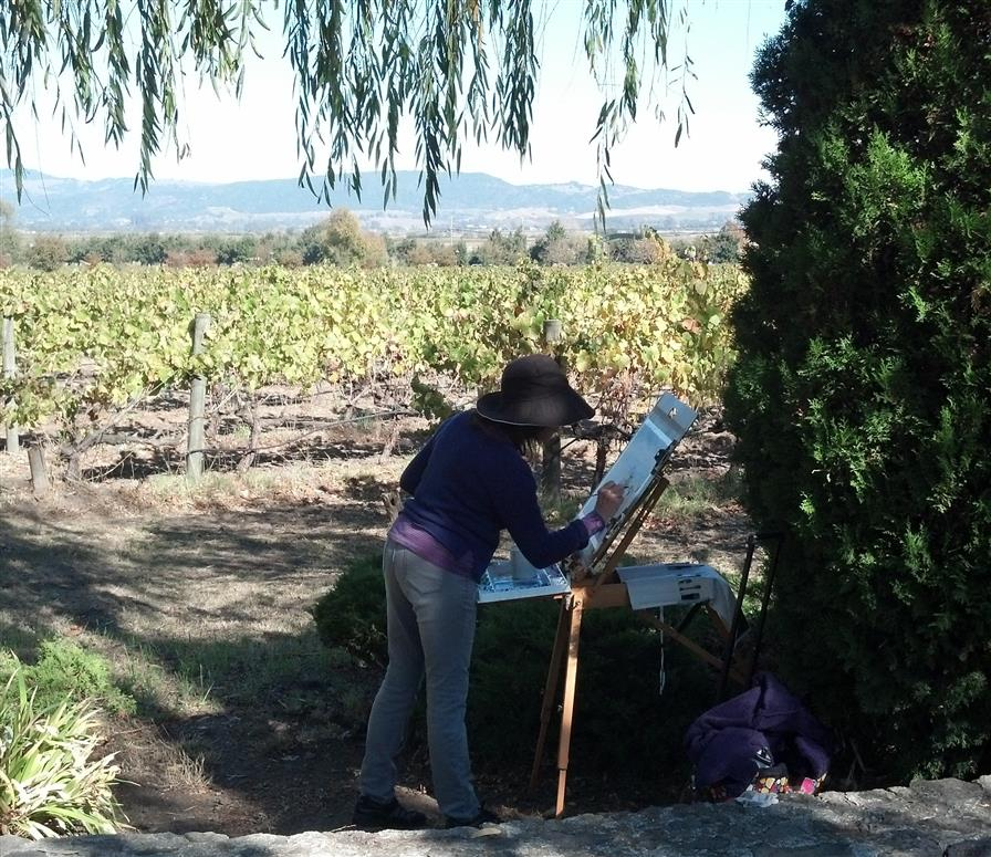 https://www.ugallery.com/webdata/Artist/18584/Studio1/large_On location painting Wine Country 2.jpg