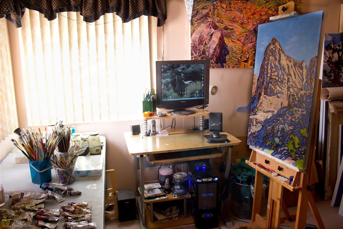 First artist studio image