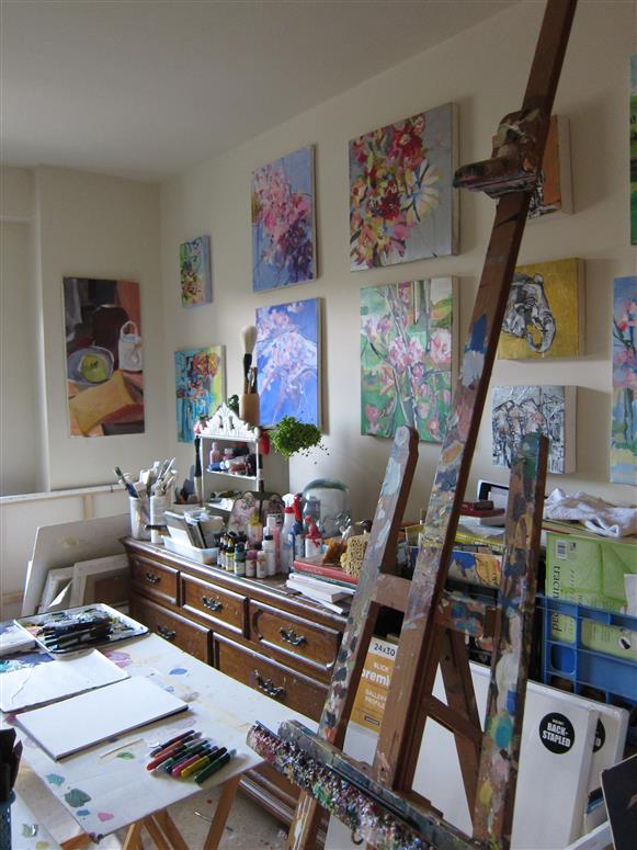 First artist studio image