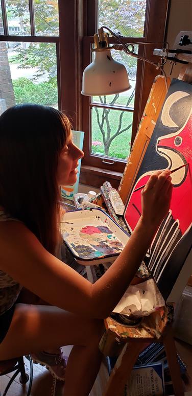 Third artist studio image