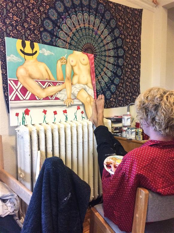 Second artist studio image
