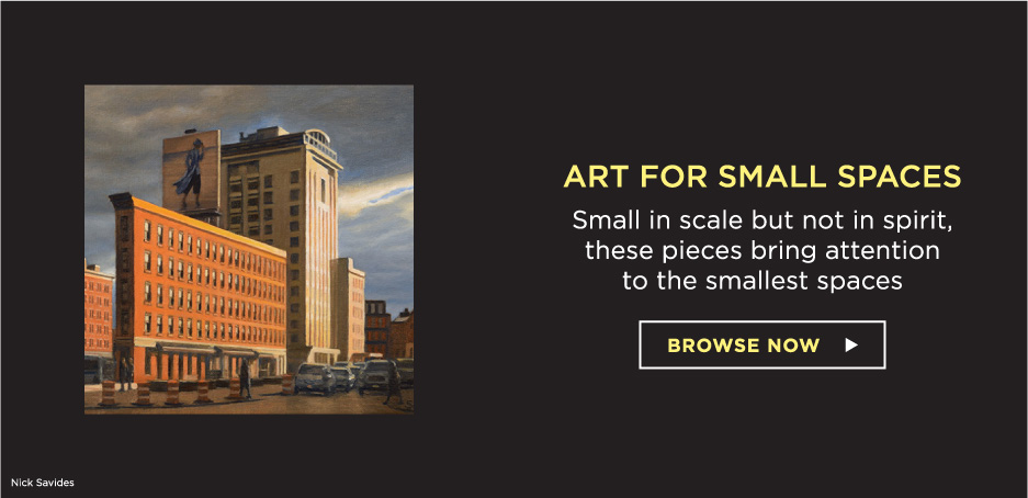 Art for Small Spaces