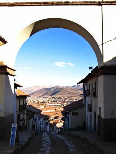 Original art for sale at UGallery.com   View of Cusco, Peru by Jeff Wheeland   $100   photography   14' h x 11' w   http://www.ugallery.com/photography-view-of-cusco-peru-6734