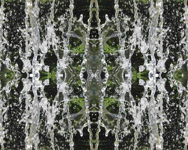 abstract art, photography, Water Kaleidoscope