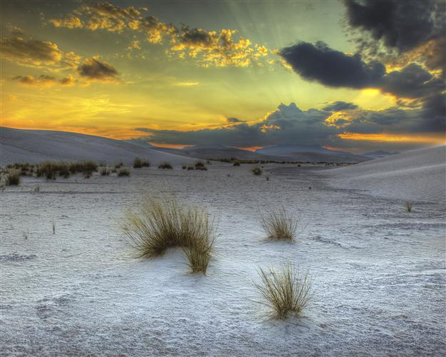 landscape art,western art, photography, White Sands Sunset