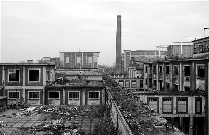 Industrial Landscape By Beat Hauser