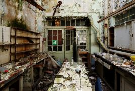 Architecture art,photography,Lab Decay