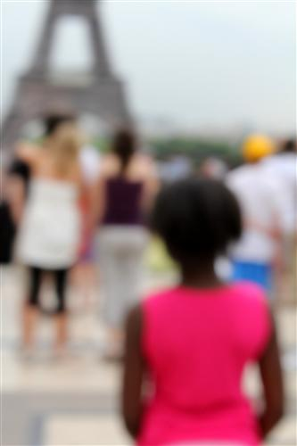 Original art for sale at UGallery.com | Pink Eiffel by Gregor Hochmuth | $400 | photography | 40' h x 30' w | http://www.ugallery.com/photography-pink-eiffel