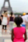 People art,Pop art,photography,Pink Eiffel