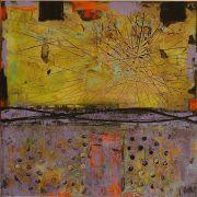 Abstract art,mixed media artwork,Cosmic Force