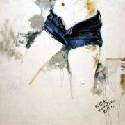 People art,Street Art art,Representational art,oil painting,Hot Pants No.2