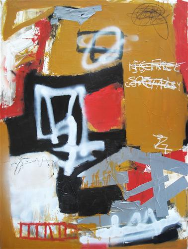 Original art for sale at UGallery.com | Social Commentary by Alan Taylor Jeffries | $1,450 | mixed media artwork | 40' h x 30' w | http://www.ugallery.com/mixed-media-artwork-social-commentary
