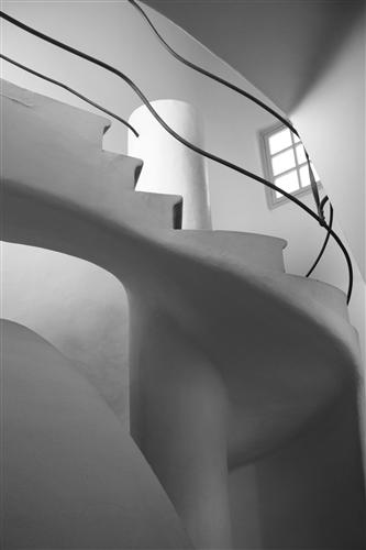 Original art for sale at UGallery.com | Barcelona in Black and White by Rebecca Plotnick | $250 | photography | 36' h x 24' w | ..\art\photography-Barcelona-in-Black-and-White