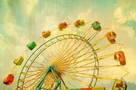 Children's art,Pop art,photography,Wheel In The Sky
