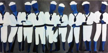 People art,Pop art,oil painting,Sailors