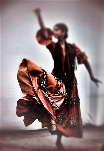 people art,surrealism art, photography, Spanish Dancer