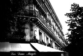 buildings art,photography,Les Deux Magots - Paris France