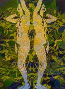 Nudes art,People art,oil painting,Liberty Five Three Thousand