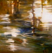 Abstract art,Seascape art,oil painting,Waterscape #10