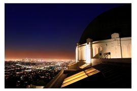 Architecture art,City art,photography,Griffith Observatory