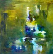 abstract art,nature art,oil painting,Water #9