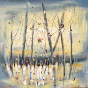 Abstract art,Flora art,oil painting,Awakening