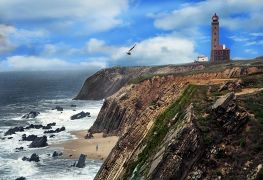 Seascape art,photography,Algarve