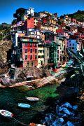 Seascape art,Travel art,photography,Quiet Water Town