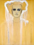 Expressionism art,People art,mixed media artwork,Girl