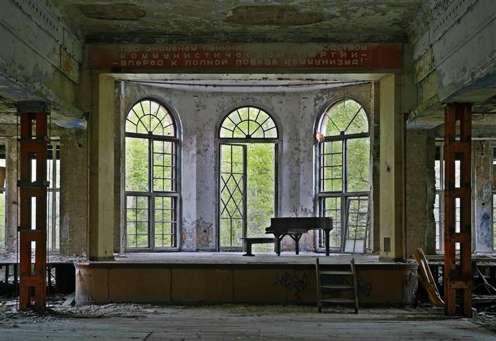 Original art for sale at UGallery.com | Mute Piano by Beat Hauser | $275 | photography | 36' h x 24' w | ..\art\photography-Mute-Piano