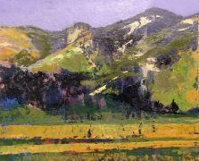 Expressionism art,Landscape art,acrylic painting,Carmel Valley
