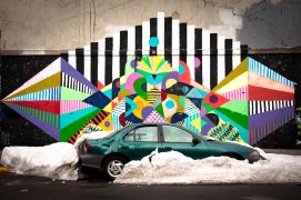 Vroom Vroom! art,photography,Snow Capped Car
