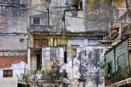 buildings art,photography,Off the Wall, Havana, Cuba