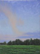 landscape art,nature art,oil painting,Summer Sky