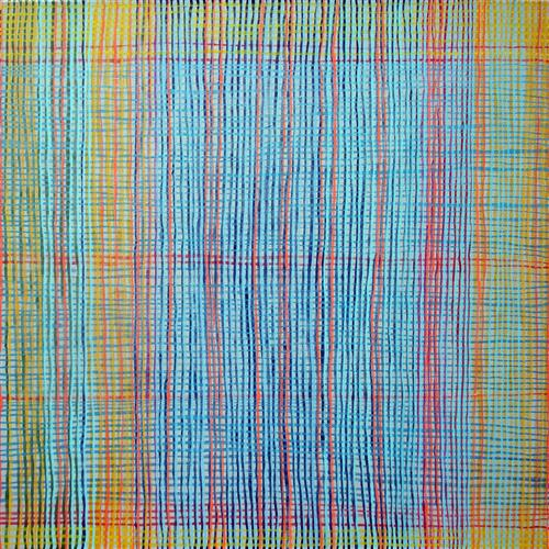 Original art for sale at UGallery.com | Spatial Color by Corey Gilbert | $700 | oil painting | 24' h x 24' w | ..\art\oil-painting-Spatial-Color