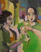 People art,acrylic painting,Untitled