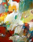 Abstract art,Expressionism art,acrylic painting,Road to Calistoga