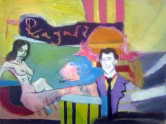 People art,Pop art,mixed media artwork,Regain
