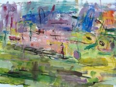 abstract art,mixed media artwork,Greenspring Valley