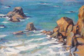 Impressionism art,Seascape art,oil painting,Lufenholtz