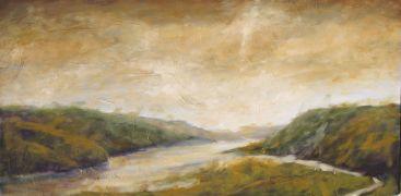 landscape art,nature art,oil painting,Grand Vista