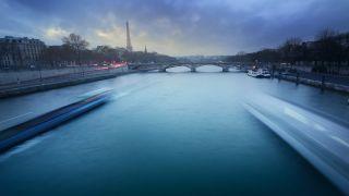 City art,Travel art,photography,Paris in Green