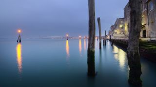 seascape art,travel art,photography,Blue Hour in Venice