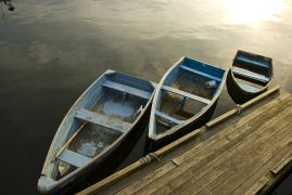 Seascape art,photography,Boats In A Row