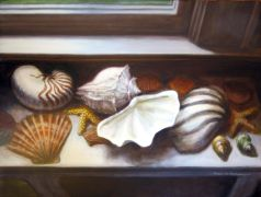 still life art,oil painting,Full House