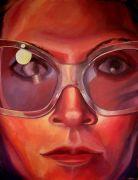 people art,oil painting,Self Portrait