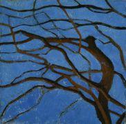 Nature art,Flora art,oil painting,Not Yet Dark