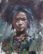 people art,oil painting, Sangji