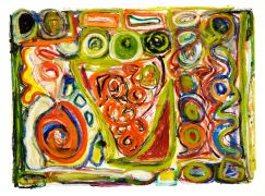 Abstract art,printmaking,Spiral 2